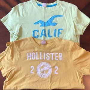 2 Men's Hollister T-Shirts🛍
